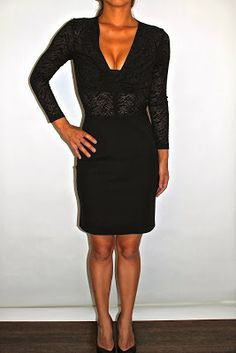 It's all about the dress this New Year's Eve.  The Supertrash lace top dress is just that.