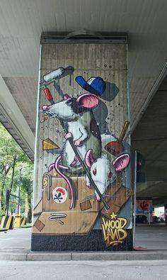 Love Street Art from around the globe.