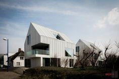 Blanco Oostduinkerke Residence / BURO II & ARCHI+I – nowoczesna STODOŁA | najlepsze PROJEKTY
