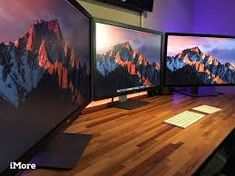 Image result for dual mac pro monitors