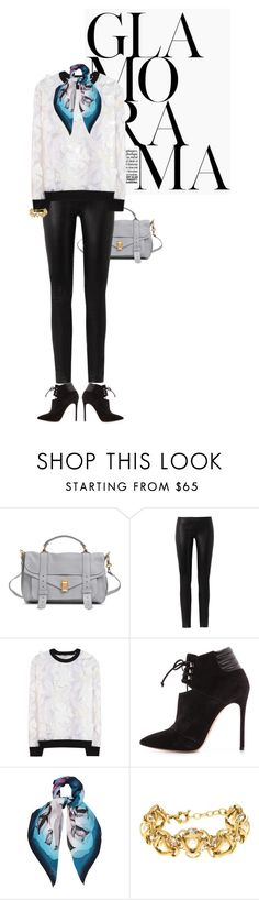 """""""."""" by fashionmonkey1 ❤ liked on Polyvore featuring Proenza Schouler, The Row, Erdem, Casadei, EMMA J SHIPLEY and J.Crew"""