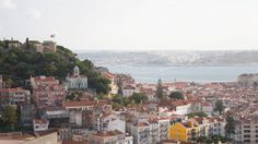 View of Lisbon from Miradouro Senhora do Monte in Lisbon | Alfama, Graça and Mouraria are the oldest quarters of Lisbon. Colorful, vibrant, full of History and with an energy of their own. Definitely the heartbeat of the city is here. Come and explore old Lisbon with us!
