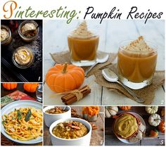 Check out the pumpkin recipes we found the most Pinteresting this week! #pumpkin