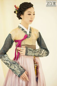 Hanbok (South Korea) or Chosŏn-ot (North Korea) is the traditional Korean dress. It is often characterized by vibrant colors and simple lines without pockets. Hanbok today often refers to hanbok of the Joseon Dynasty and is worn as semi-formal or formal wear during traditional festivals and celebrations.