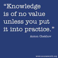 -Anton Chekhov