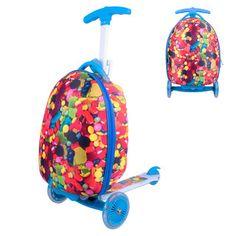 WORKER Lagy Kinderroller mit Koffer - Candy