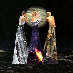 The Three Erinyes by Eugenia Loli, 2015. Digital artwork.