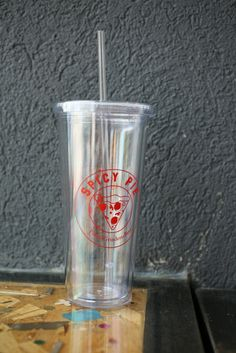 Spicy Pie Clear Tumbler! - $8