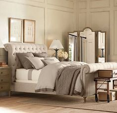chesterfield bed pottery barn - Google Search