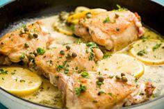 Easy Skillet Chicken Piccata