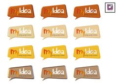 My Idea Variaciones 3. Identidad corporativa by La Mamba Negra. Tel.:619 4771 715 - info@lamambanegra.com
