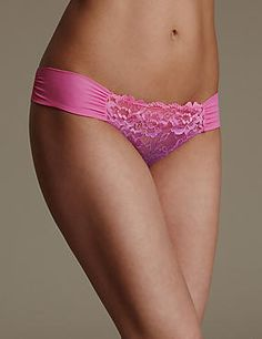 Rio Sweetheart Lace Brazilian Knickers