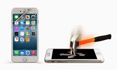 shoppinxx.net: Panzerglas-Schutzfolie für iPhone 6 (Plus) - 68%