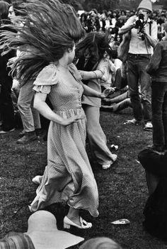 Dancing like the wolf wives of eternity at Woodstock '69