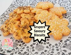 Gruyere Cheese is a very smooth cheese to cook with and has a nice tang to it without being too harsh. Savoury Biscuits, Gruyere Cheese, Yummy Food, Tasty, Smooth, Nice, Cooking, Breakfast, Recipes