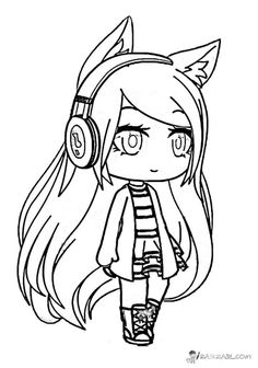 Anime Coloring Pages Easy Luxury Gacha Life Coloring Pages Unique Collection Print for Free Chibi Coloring Pages, Unicorn Coloring Pages, Cute Coloring Pages, Coloring Pages For Girls, Flower Coloring Pages, Disney Coloring Pages, Christmas Coloring Pages, Animal Coloring Pages, Coloring Pages To Print