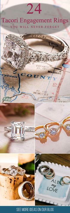 24 Tacori Engagement Rings You'll Never Forget ❤ The Tacori engagement rings may drive crazy any girl. But it's not easy to choose the ring; actually, all of them is perfect. Find yourself in their beauty! See more: http://www.weddingforward.com/tacori-engagement-rings/ ‎#engagement #rings