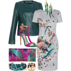 """Here comes the spring"" by ivanyi-krisztina on Polyvore"