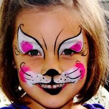 """Perfect face painting for """"If You Give a Cat a Cupcake"""" Book Character Day!"""