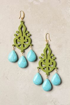 The Gilded Hare: DIY Carved Filigree Earrings