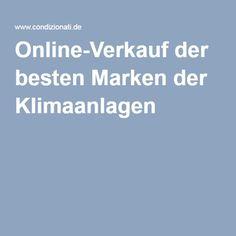 Online-Verkauf der besten Marken der Klimaanlagen