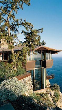 9. Arquitetura. Casas que respeitam e valorizam a natureza.