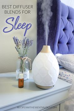 Essential oils are powerful allies in the quest for a better night's sleep. Sleep more soundly with these 6 best diffuser recipes for sleep. #sleeprecipes #sleepdiffuserrecipes #sleepdiffuserblends #diffuserrecipes #essentialoilrecipes #essentialoils Essential Oils For Sleep, Best Essential Oils, Young Living Essential Oils, Best Diffuser, Diffuser Blends, Cedarwood Essential Oil, Essential Oil Diffuser, Insomnia Cures, Blue Tansy