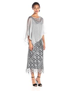 92274f9b32e New S.L. Fashions Women s Long Crochet Tank Dress online