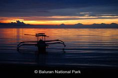 Sunrise at Bama Beach, Baluran National Park, Indonesia