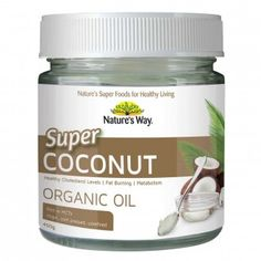 Nature's Way Super Foods Coconut Oil 450 g