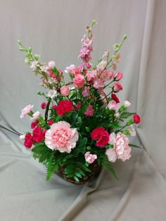 ..egy szál virág, mit adhatok..... Floral Wreath, Basket, Wreaths, Happy, Home Decor, Board, Flower Crown, Decoration Home, Door Wreaths