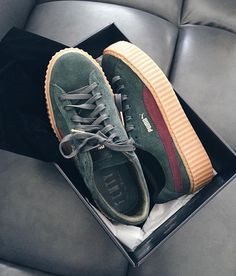 And On Shoes Flats Images Fentyxpuma Best Pinterest Pumas 31 qUROF