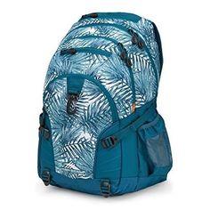 7a67b38e2a School Backpack teenage Kids Women Boy Girl Blue Bookbag Bag Bags Travel S  New  HighSierra