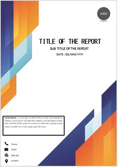 University Assignment Title Page Template Font Stuff