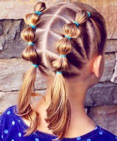 Twist For Little Girl Hair Punk Girl Hairstyles Cute Ponytail Hairstyles For Kids 20190125 Easy Little Girl Hairstyles, Girls Hairdos, Easy Hairstyles For School, Baby Girl Hairstyles, Hairstyles For Toddlers, Simple Hairdos, Cute Toddler Hairstyles, Princess Hairstyles, Hairdos For Little Girls
