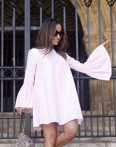 NWT ZARA WHITE PINK STRIPED JUMPSUIT DRESS OPEN BACK  SIZE M Ref.0881/284 #Zara #Jumpsuit #Casual