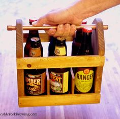 Beer carrier with built in bottle opener