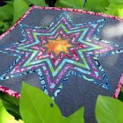 Exploding Star Paper Piecing Template - via @Craftsy           $1.99 pattern