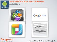Best Android apps for working on the go.