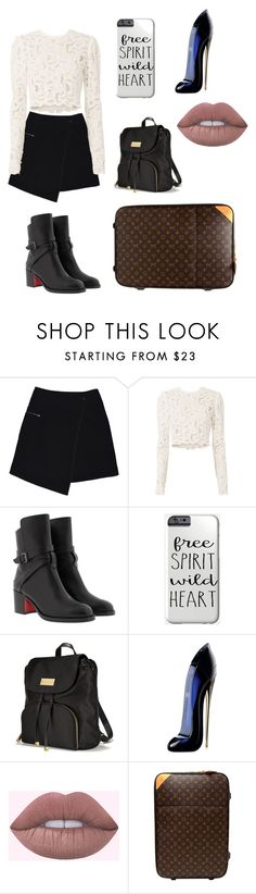 """Big City"" by arabelladrumarchetta ❤ liked on Polyvore featuring MARC CAIN, A.L.C., Christian Louboutin, Victoria's Secret, Carolina Herrera and Louis Vuitton"