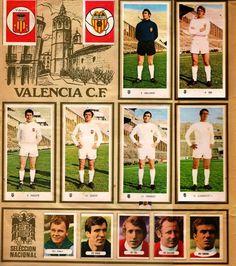 Selección Española de Fútbol. 1971-72. Cromos Ruiz Romero.
