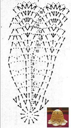 Resultado de imagen para campanas a crochet paso a paso