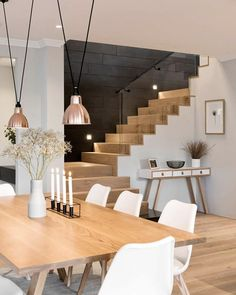 97 Most Popular Modern House Stairs Design Models 38 Home Interior Design, Interior Decorating, Decorating Ideas, Decor Ideas, Contemporary Interior, 31 Ideas, Interior Ideas, House Stairs, Wood Stairs