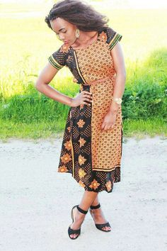 Khanga style Latest African Fashion, African women dresses,