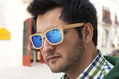 Bamboo cool sun glasses polarized