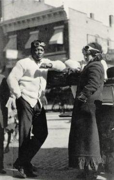 Jack Johnson Boxer White Women | Jack Johnson and Etta Duryea