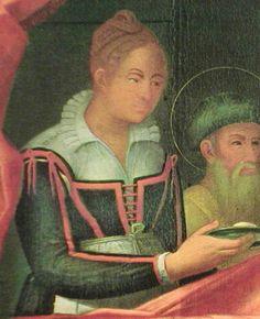 Pietro Ronzelli: Nativita di Maria, Chiesa del Carmine, Bergamo by festive attyre, via Flickr