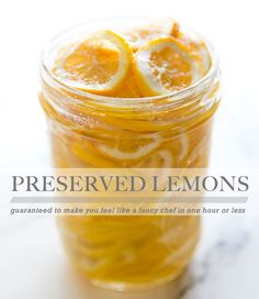 PRESERVED LEMONS via A House in the Hills