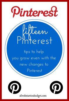 Social Media tips: 15 Pinterest tips to help you grow