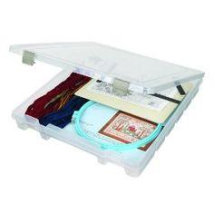 Art Bin Art Bin 15-Inch-by-14-Inch-by-2-Inch Super Satchel Slim Single Compartment Box $9.88